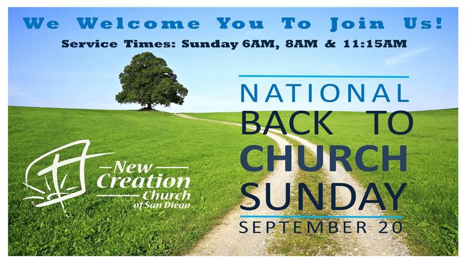 back to church web