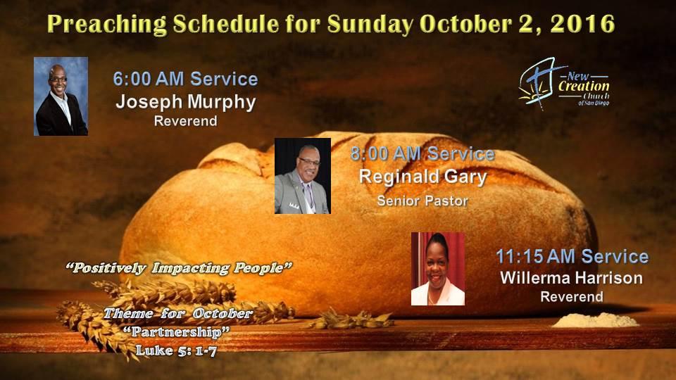 Sunday Oct. 2 Web